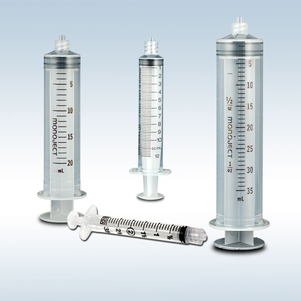 Luer Lock Syringes with Blunt Tip Needle
