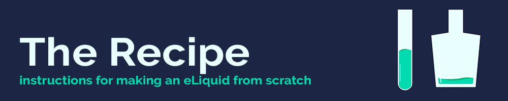 Nicvape DIY E-Liquid recipe section