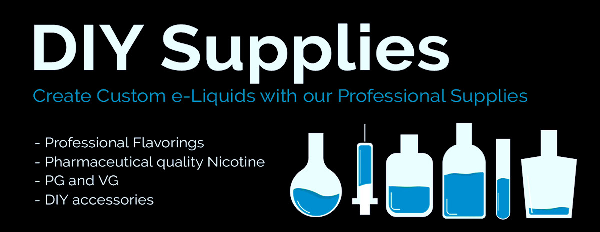Diy vape supplies nicvape diy ingredients supplies categories diy e juice starter kits solutioingenieria Images