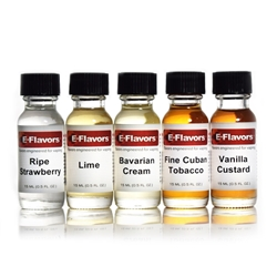 15ml E-Flavors DIY E-Liquid Flavoring Variety 5-Pack