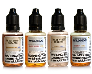 30ml E-Liquid Variety Pack - Wildside and Tradewinds