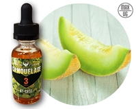 Camouflage At Ease Max-VG E-Liquid NicVape, Camouflage, eliquid, e-liquid, ejuice, e-juice, honeydew flavored e-liquid, vape juice, at ease