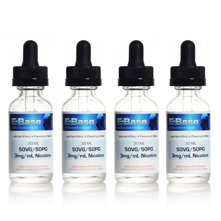 E-Base™ 30mL Ready-to-Flavor E-Liquid | 4-Pack