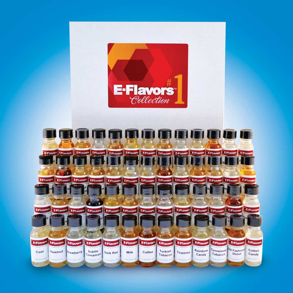 E-Flavors MASSIVE 52 Flavor Variety Pack #1