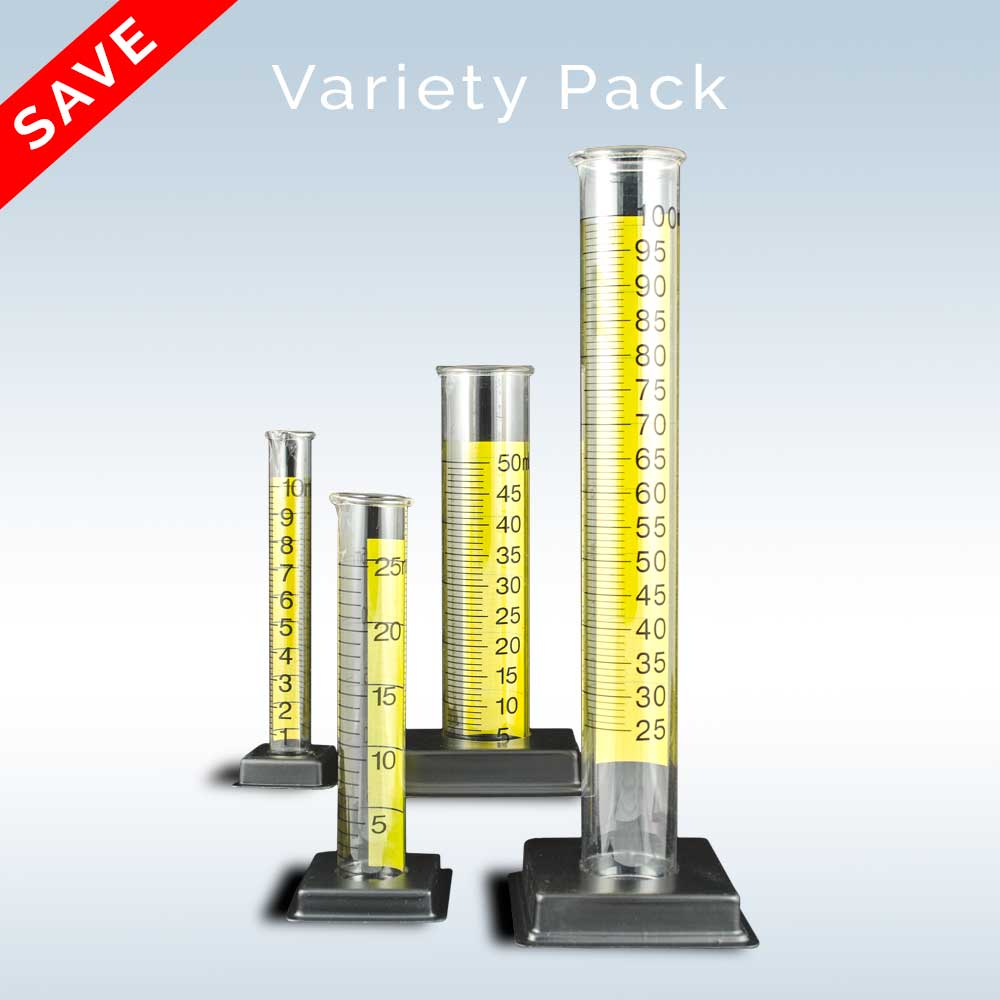Graduated Cylinder Variety Pack