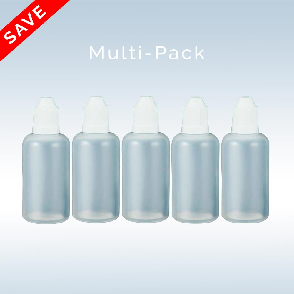 E-Liquid DIY 5-Pack LDPE Bottles from NicVape