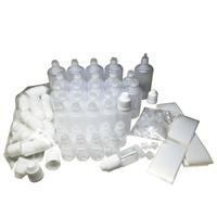 Large E-Liquid Plastic Dropper Bottle Variety Pack