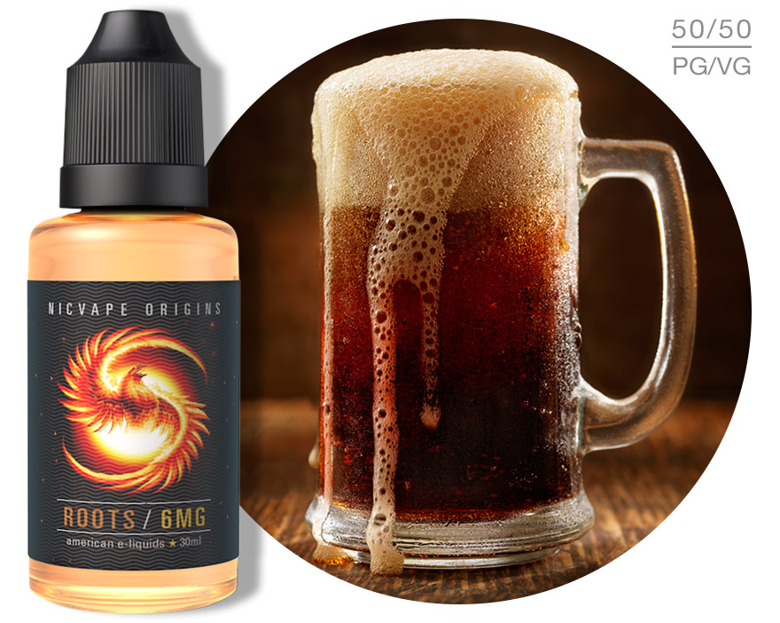 Origins™ Roots e-Juice Roots, Origins, E-liquid, nicvape, eliquid, e liquid, e juice