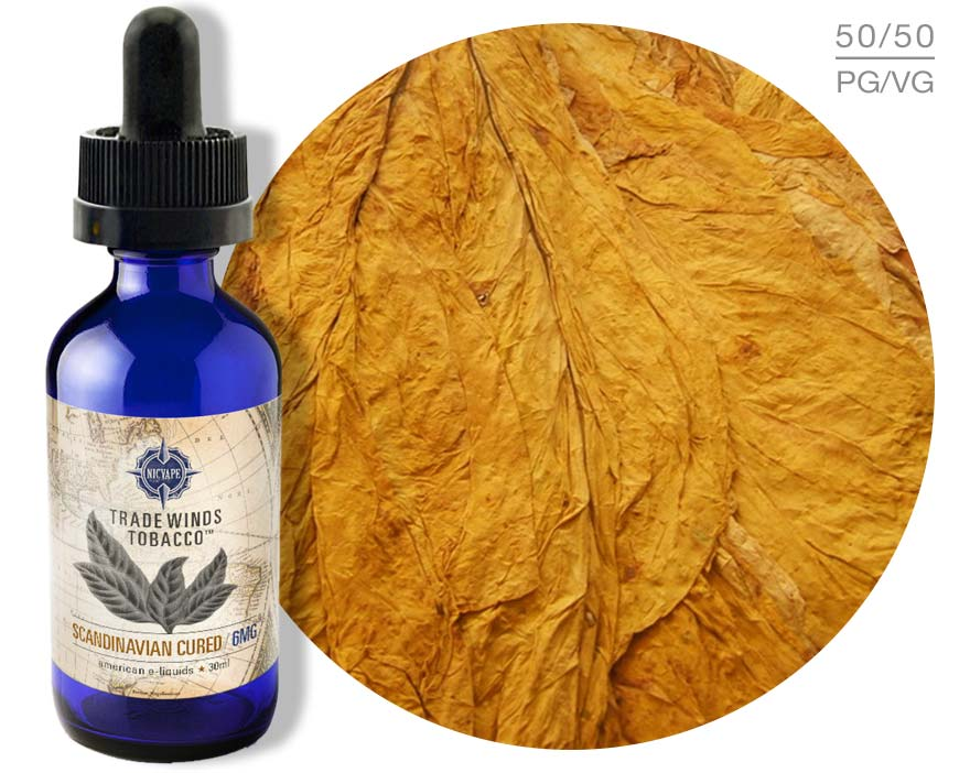 Tradewinds Tobacco™ Scandinavian Cured e-Liquid Scandinavian Cured, Tradewinds Tobacco, Tobacco Flavored E-Liquids, E-liquid, nicvape, eliquid, e liquid, e juice