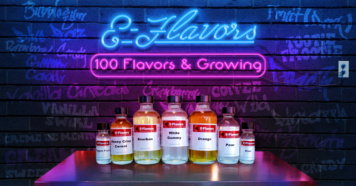 E-Flavors E-Liquid Flavoring Concentrates for DIY ELiquid