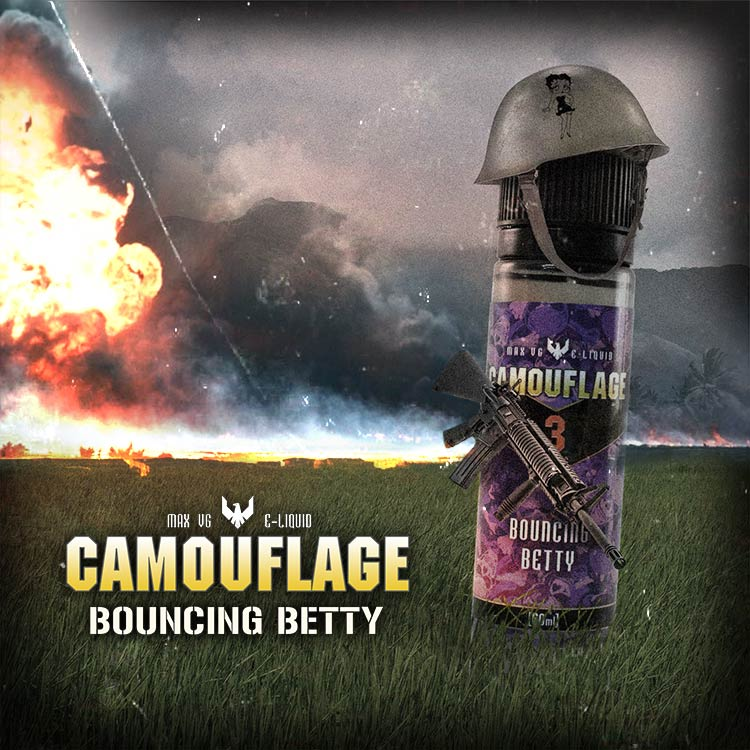 NicVape Heroes | Camouflage | Bouncing Betty